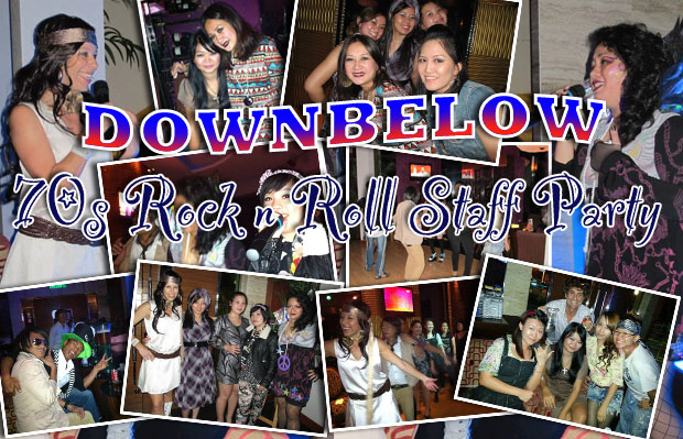downbelow borneo 70s party