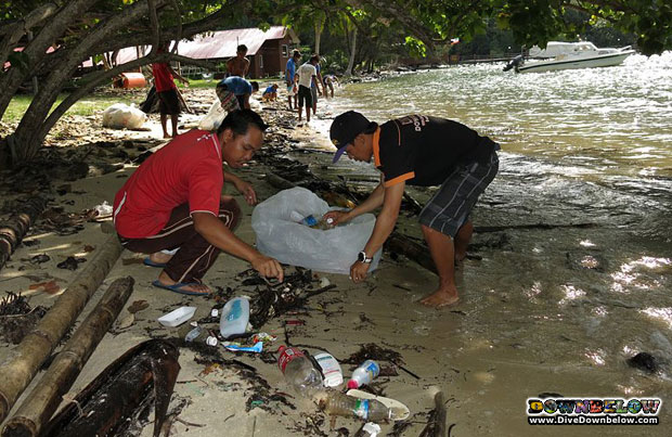 cleanup-beach-borneo