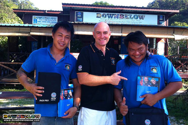 become a dive professional in asia - no experience needed