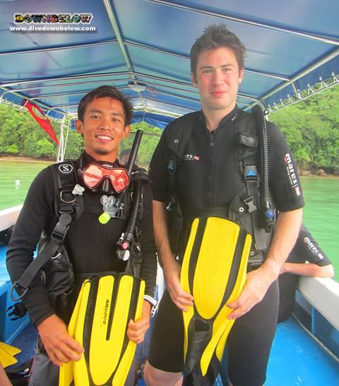 breath hold diving in borneo