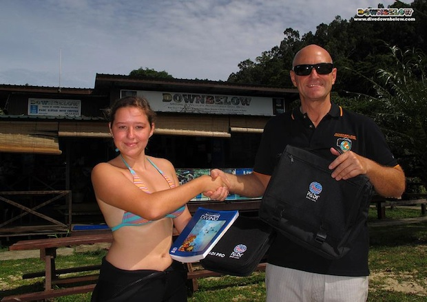 Borneo New Divemaster Intern