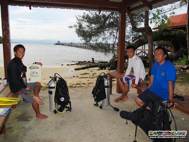 career diving kota kinabalu sabah