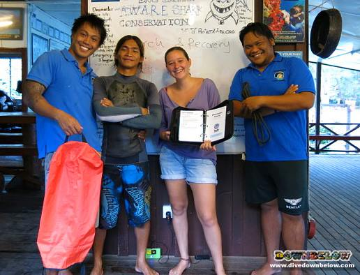 Search & Recovery Dive Training Borneo