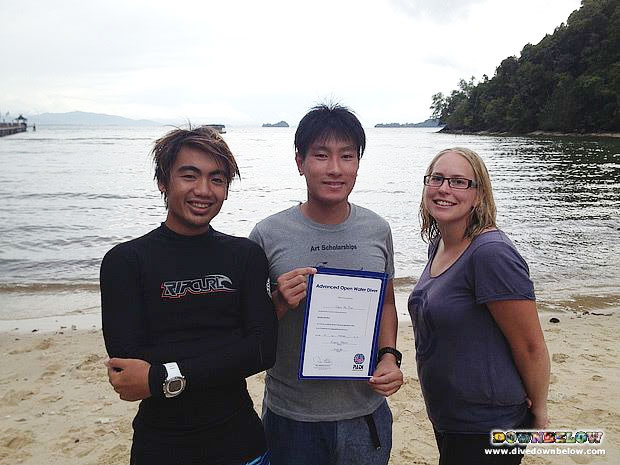 PADI Advanced Open Water Borneo