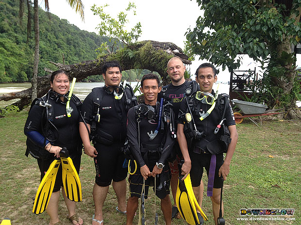 Former DSD Participants Are Back for Open Water Course