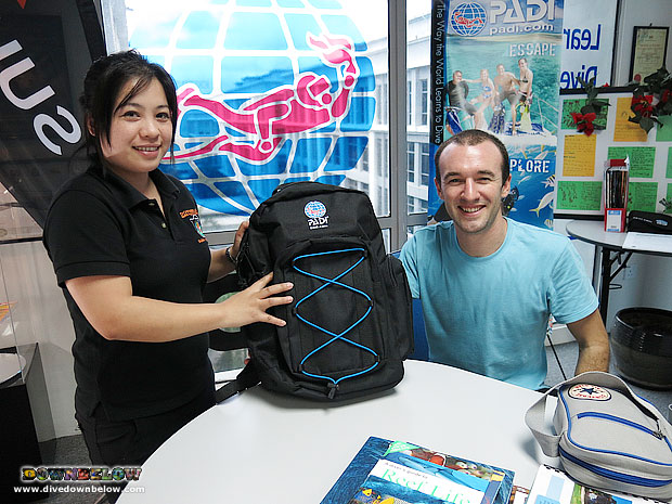 IDC Borneo Candidate Receiving his IDC pack
