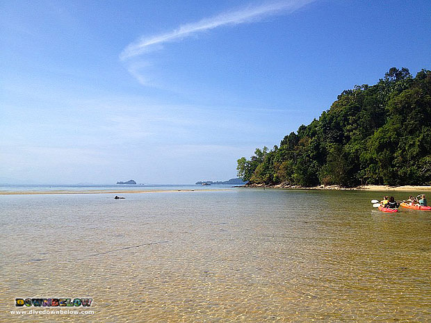 Beautiful Day in Borneo for Kayaking