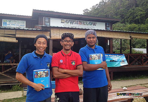 Our local interns are now certified divers