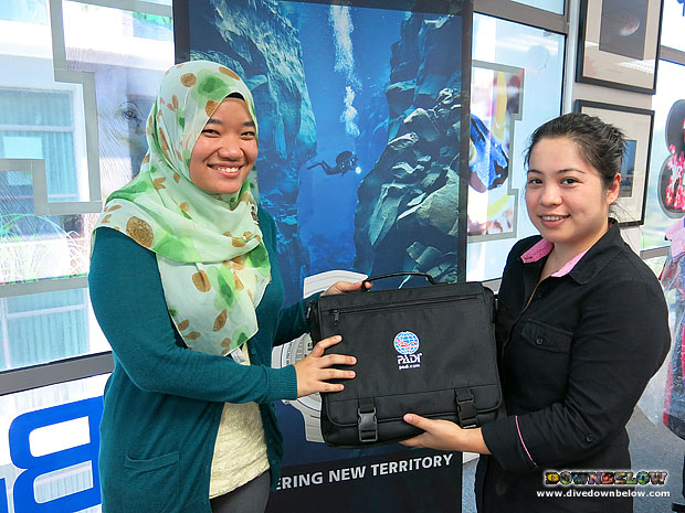 Downbelow new divemaster intern