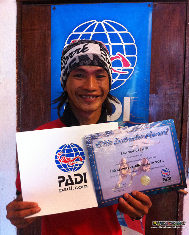 Borneo elite scuba diving instructor