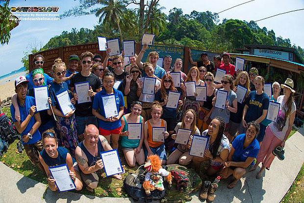 camps Borneo leaving