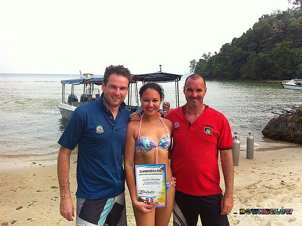 Rasa Ria Guests Go Snorkelling