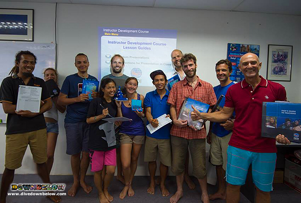 resident platinum padi course director, padi 5 star idc dive centre, instructor development course, padi idc, padi ie, instructor examination, open water scuba instructor, padi owsi,