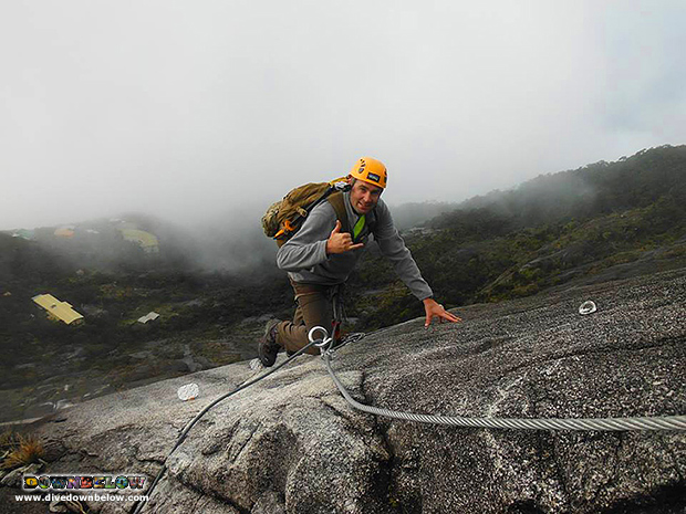 via ferrata, walk the torq, mountain torq, lows' peak, mount kinabalu, mountain climbing, crocker range mountain, sabah, borneo, malaysia, world heritage site, UNESCO designated site, kinabalu national park