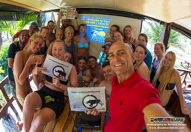downbelow marine and wildlife adventures, premier padi 5 star idc dive centre, expedition borneo, sabah, kota kinabalu, wildlife crime, world wildife day, scuba diving, aware coral reef conservation, padi open water scuba instructor, project aware divers,