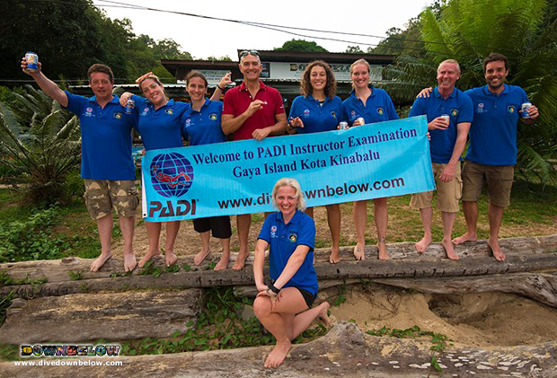 padi instructor examination, padi instructor development course, idc, downbelow, go pro internship program, 100% success rate, sabah travel centre, kota kinabalu dive shop, expedition borneo, kinabatangan river, padi open water scuba instructor, sipadan island, mount kinabalu