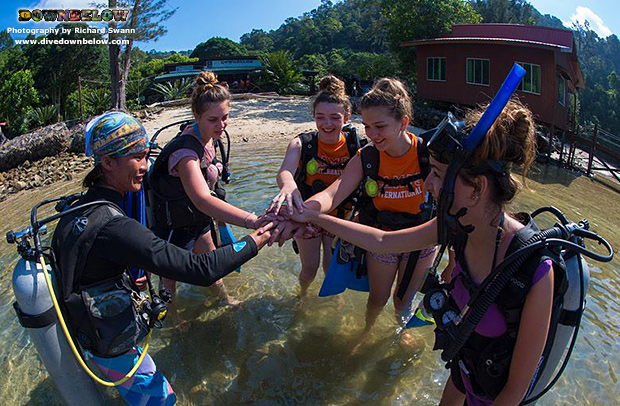 environment, downbelow marine and wildlife adventures, premier padi 5 star idc dive centre, camps international, camp borneo, sabah travel centre, group travel, adventure, scuba diving, padi open water diver course, kota kinabalu