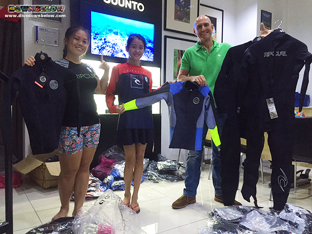 downbelow marine and wildlife adventures, rip curl, kota kinabalu dive shop, kk, padi 5 star idc dive centre, tar marine park, dive gear, swimwear, wetsuits, rashguards, neoprene jackets, sabah, borneo