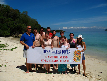 Group Photo at the Marine Education Program