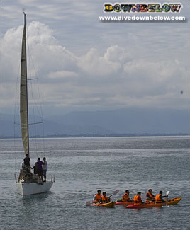 Sailing and Kayaking can be organised for groups
