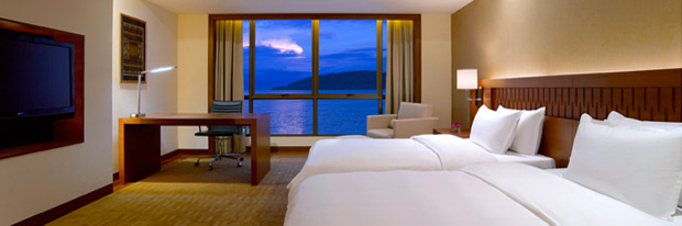 High-end City Hotel Accommodation & Dive Package at the Hyatt Regency Kota Kinabalu