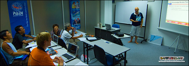 Gain theoretical knowledge in a conducive classroom environment