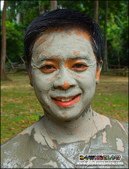 Apart from being a mosquito repellent the Pulau Tiga - Survivor Island mud also make you look younger