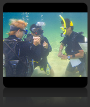 PADI Go Pro Instructor Development Course Instructor