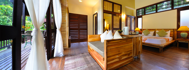 Borneo Rainforest Lodge Accommodation - basic, but comfortable